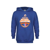 Youth Royal Fleece Hoodie-Movin Mavs NWBA National Champions