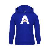 Youth Royal Fleece Hood-A with Star