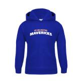 Youth Royal Fleece Hood-UT Arlington Mavericks