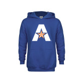 Youth Royal Fleece Hoodie-A with Star