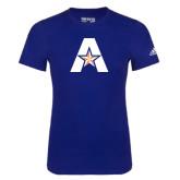 Adidas Royal Logo T Shirt-A with Star
