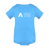 Light Blue Infant Onesie-A with Star