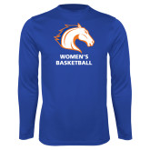 Performance Royal Longsleeve Shirt-Mens Basketball