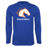 Performance Royal Longsleeve Shirt-Volleyball