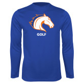 Performance Royal Longsleeve Shirt-Golf