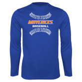 Performance Royal Longsleeve Shirt-Baseball Seams