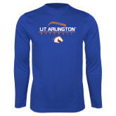 Performance Royal Longsleeve Shirt-Baseball Seams on Top