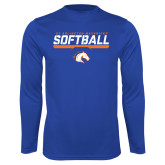 Performance Royal Longsleeve Shirt-Softball Shelf
