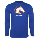 Performance Royal Longsleeve Shirt-Alumni