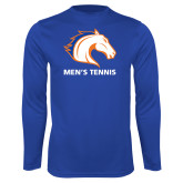 Performance Royal Longsleeve Shirt-Mens Tennis