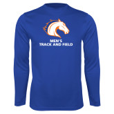 Performance Royal Longsleeve Shirt-Mens Track and Field
