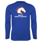 Performance Royal Longsleeve Shirt-Mens Cross Country