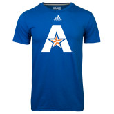 Adidas Climalite Royal Ultimate Performance Tee-A with Star