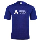 Performance Royal Heather Contender Tee-Secondary Mark