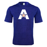 Performance Royal Heather Contender Tee-A with Star