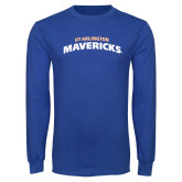 Royal Long Sleeve T Shirt-UTA Mavericks stacked