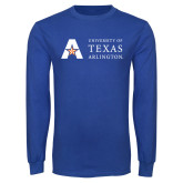 Royal Long Sleeve T Shirt-University of Texas Arlington