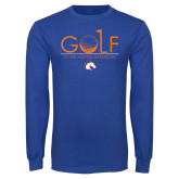 Royal Long Sleeve T Shirt-Golf Hole
