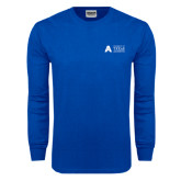 Royal Long Sleeve T Shirt-Secondary Mark