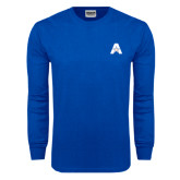 Royal Long Sleeve T Shirt-A with Star