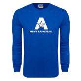 Royal Long Sleeve T Shirt-Mens Basketball