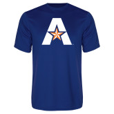 Performance Royal Tee-A with Star
