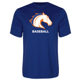 Performance Royal Tee-Baseball