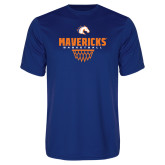 Performance Royal Tee-Basketball Net