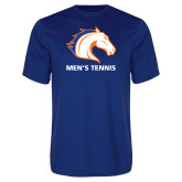 Performance Royal Tee-Mens Tennis