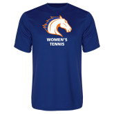 Performance Royal Tee-Womens Tennis