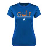 Ladies Syntrel Performance Royal Tee-Golf Flag