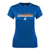 Ladies Syntrel Performance Royal Tee-Volleyball Shelf