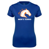 Ladies Syntrel Performance Royal Tee-Mens Tennis