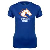 Ladies Syntrel Performance Royal Tee-Womens Tennis