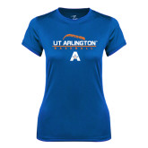 Ladies Syntrel Performance Royal Tee-Baseball Laces on Top