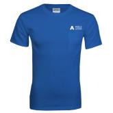 Royal T Shirt w/Pocket-Secondary Mark