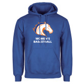 Royal Fleece Hoodie-Mens Basketball