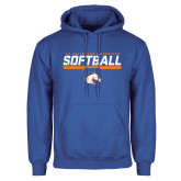 Royal Fleece Hoodie-Softball Shelf