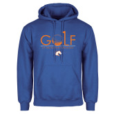 Royal Fleece Hoodie-Golf Hole