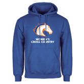 Royal Fleece Hoodie-Womens Cross Country