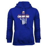 Royal Fleece Hoodie-2016-17 Regular Season Champions - Mens Basketball Hanging Net