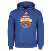 Royal Fleece Hoodie-Movin Mavs NWBA National Champions