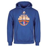Royal Fleece Hoodie-Movin Mavs NWBA National Champions