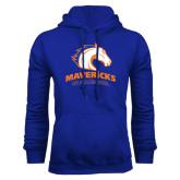 Royal Fleece Hood-Mavericks