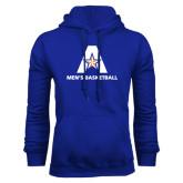 Royal Fleece Hood-Mens Basketball