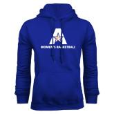 Royal Fleece Hood-Womens Basketball