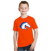 Youth Orange T Shirt-Horse Head