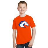 Youth Orange T Shirt-Horse Head