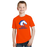Youth Orange T Shirt-Mens Basketball
