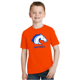 Youth Orange T Shirt-Softball